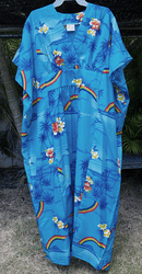 Blue Rainbow Hawaiian Muumuus
