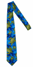 Hawaiian Necktie<br>Sea turtle blue