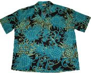 Hawaiian Party Shirt <br>#7 Hawaii Pineapples