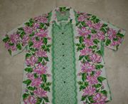 Hawaiian Shirt <br>#27 Pink flower