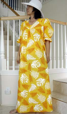 Long Muumuu<br>Yellow flower