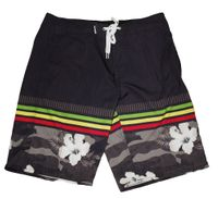 Man board short - <br>Black