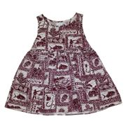 Hawaii dress for girl<br>Red Sea Turlte
