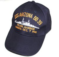 USS ARIZONA BB-39 hats