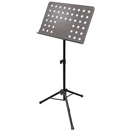 AxcessAbles SM-501B Orchestra Conductor Sheet Stand Height & Angle Adjustable (Black)