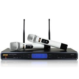 BMB WB-5000S(W) Wireless Microphone System with White Handhelds