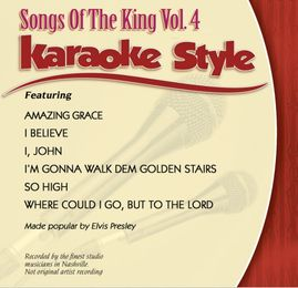 Daywind Karaoke Style CDG #0961 - Songs of the King Vol.4