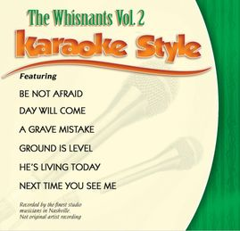 Daywind Karaoke Style CDG #0992 - The Whisnants Vol. 2