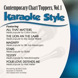 Daywind Karaoke Style CDG #0999 - Contemporary Chart Toppers Vol. 1