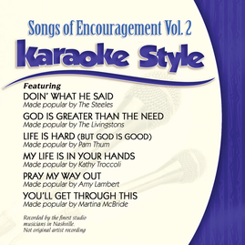 Daywind Karaoke Style CDG #1094 - Songs of Encouragement Vol.2