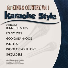 Daywind Karaoke Style CDG #1100 - For King & Country Vol.1