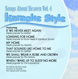 Daywind Karaoke Style CDG #1324 - Songs About Heaven Vol.4
