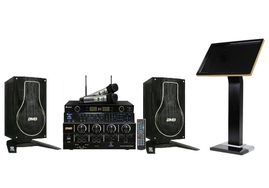 """Acesonic KOD-2800 (8TB) W/19"""" Touchscreen + BMB Basic Black Edition + Acesonic UHF-5200P Wireless Mic Package"""