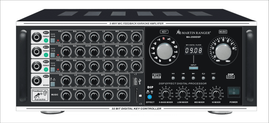 Martin Roland MA-2500DSP 500W+500W (Peak @ 8 ohms) Mixing Amplifier with Bluetooth Connectivity
