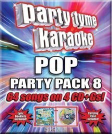 Party Tyme Karaoke CDG SYB4488 - POP PARTY PACK 8
