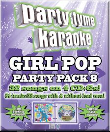 Party Tyme Karaoke CDG SYB4489  - GIRL  POP PARTY PACK 8