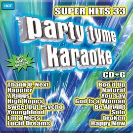 Party Tyme Karaoke CDG SYB1144 - Super Hits 33