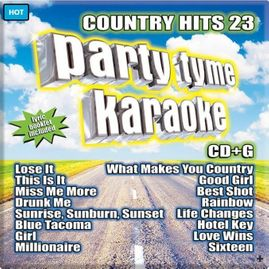 Party Tyme Karaoke CDG SSYB1145EG -�Country�Hits 23