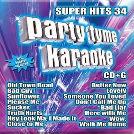 Party Tyme Karaoke CDG SYB1146 - Super Hits 34