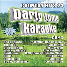 Party Tyme Karaoke CDG SYB1147 - Country Hits 24