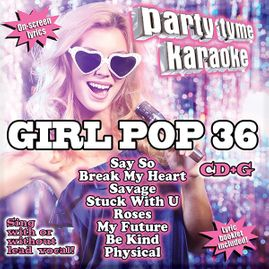 Party Tyme Karaoke CDG SYB1708 - GIRL POP 36
