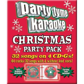 Party Tyme Karaoke CDG SYB4409 - Christmas Party Pack