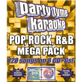 Party Tyme Karaoke CDG SYB4427 - Pop, Rock, R&B Mega Pack