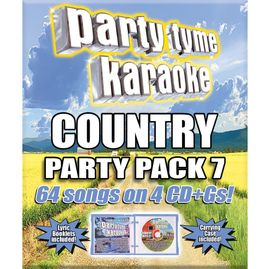 Party Tyme Karaoke CDG SYB4491 - Country Party Pack 7