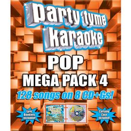 Party Tyme Karaoke CDG SYB4492 - Pop Mega Pack 4