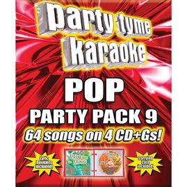 Party Tyme Karaoke CDG SYB4494 - POP PARTY PACK 9