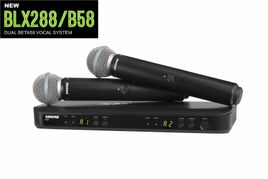 Shure BLX288/B58 Dual Wireless System with 2 BETA 58A Microphones