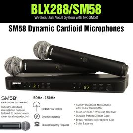 Shure BLX288/SM58 Dual Wireless System with 2 SM58 Microphones