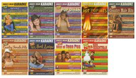 Singer's Dream Karaoke - 9 DVD Set