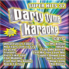 Party Tyme Karaoke CDG SSYB1142EG - Super Hits 32