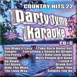 Party Tyme Karaoke CDG SSYB1143EG - Country Hits 22