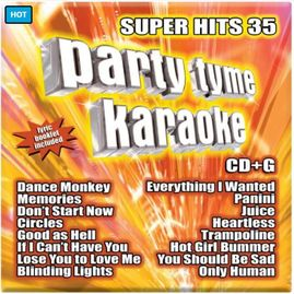 Party Tyme Karaoke CDG SYB1148 - Super Hits 35