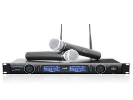 Technical Pro WM1201 Dual UHF Wireless Microphone System