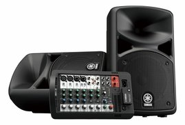 Yamaha STAGEPAS 400BT All-in-one Portable Bluetooth 400W PA system