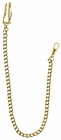 "12"" Goldtone Watch Chain"