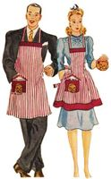 VINTAGE SEWING PATTERNS - Aprons & Accessories