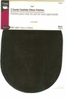 Dritz  Black Suede Cowhide Elbow Patches