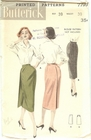 Butterick 7799 Skirt, Waist 30""