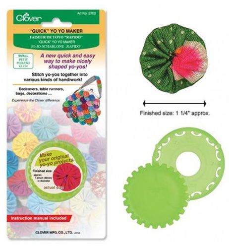 Clover #8700 Small Round Quick Yo-Yo Maker