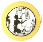 "Acme's ""Dress Form""  Silhouette Retractable  Measuring Tape"
