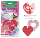 Clover #8706 Large Heart Shaped Quick Yo-Yo Maker