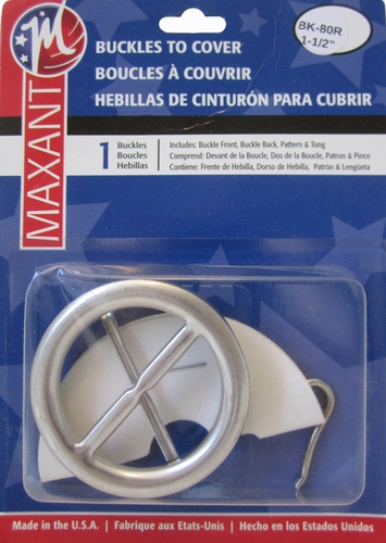 **NEW**Maxant Buckles to Cover-Round
