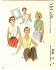 """McCall 9028 Blouse,Bust 34"""""""