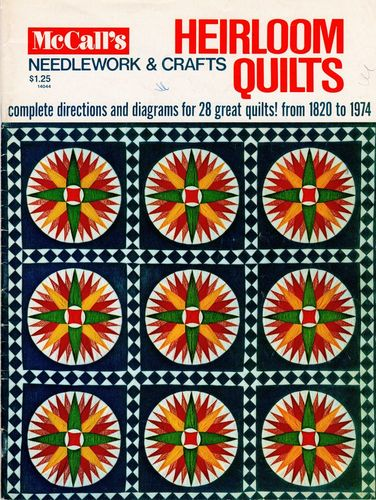 McCall's Heirloom Quilts 1974