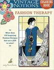 Amy Brickman's Vintage Fashion Therapy Coloring Book