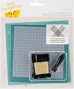 **NEW** Amy Tangerine Oxford Embroidery Stencil Kit